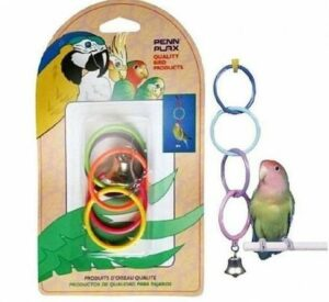 PENN-PLAX ОЛИМПИЙСКИЕ КОЛЬЦА игрушка для птиц средние 1х12