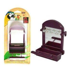 PENN-PLAX кормушка для птиц внутренняя с зеркалом и бусинами