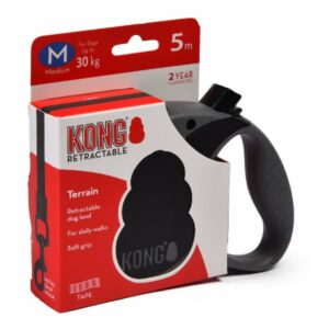 KONG рулетка Terrain M  лента  черная