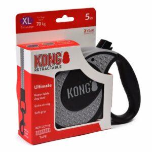 KONG рулетка Ultimate XL  лента  серая