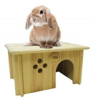 Дом для кролика №2 40.5х31х21 см