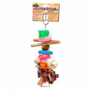 PENN-PLAX ПОДВЕСКА игрушка для птиц комбинированная средняя 1х6