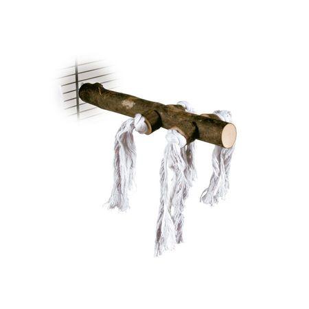 TRIXIE 20 см жердочка деревянная с веревкой 1х4