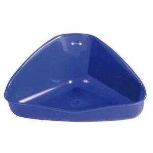 TRIXIE 36 см х 21 см х 30 см туалет для грызунов угловой 1х6