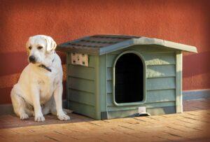 BAMA PET будка для собак BUNGALOW   пластик, зеленая
