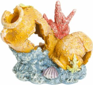 GloFish Разбитая ваза - декорация с GLO-эффектом