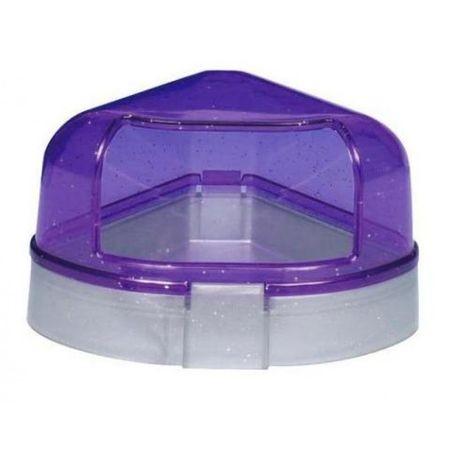 TRIXIE туалет с крышкой для хомяка угловой 1х6