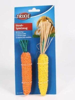 TRIXIE набор для грызунов морковь и кукуруза сизаль
