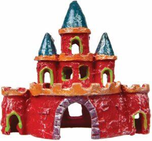 GloFish Замок-декорация с GLO-эффектом