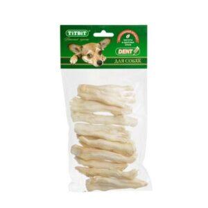 TITBIT 100 г лапки кроличьи большие для собак xl мягкая упаковка 1х50
