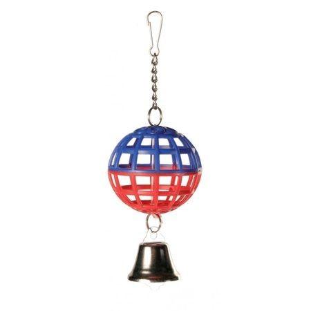 TRIXIE шарик для птиц на цепочке с колокольчиком
