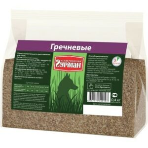 ЧЕТВЕРОНОГИЙ ГУРМАН 1 кг каша гречка 1х4