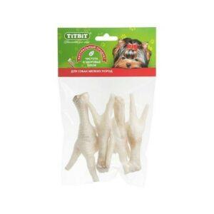 TITBIT 45 г лапки куриные для собак мягкая упаковка 1х50