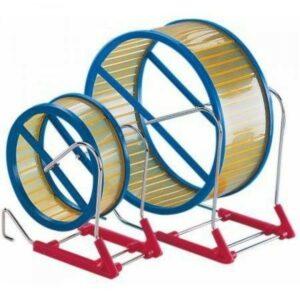 NOBBY 12 см колесо для грызунов на подставке пластик 1х6