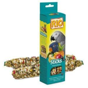 RIO 2х90 г палочки для попугаев с фруктами и ягодами 1х10