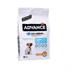 ADVANCE PUPPY Baby Protect Mini 3 кг сухой корм для щенков малых пород курица с рисом 1х5