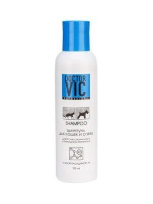 VIC Шампунь с хлоргексидином 4% для собак и кошек 150 мл