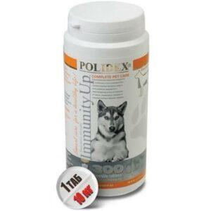 POLIDEX Immunity Up 300 таб иммунити ап для собак укрепляет иммунитет рекомендован в период вакцинации 1х8