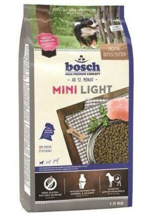 Bosch Adult Mini Light 1 кг для взрослых собак маленьких пород c избыточным весом до 15 кг