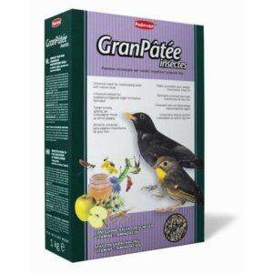 PADOVAN GRANPATEE insectes 1 кг корм комплексный для насекомоядных и плотоядных птиц с насекомыми 1х12