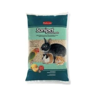 PADOVAN SANIPET profumato 4 л наполнитель для грызунов кукурузные гранулы 1х6