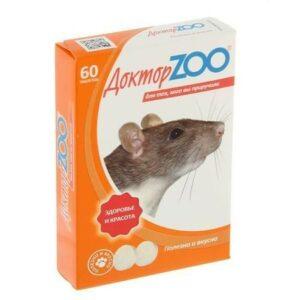 Доктор ZOO 60 таблеток витамины для крыс и мышей