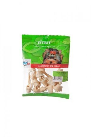 TITBIT 28 г кость узловая для собак мини мягкая упаковка 1х100
