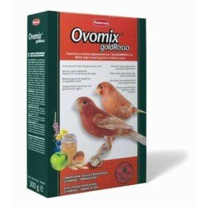 PADOVAN OVOMIX GOLD Rosso 1 кг корм для птенцов с красным оперением комплексный яичный 1х12