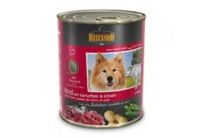 BELCANDO 800 г консервы для собак с говядиной 1х12