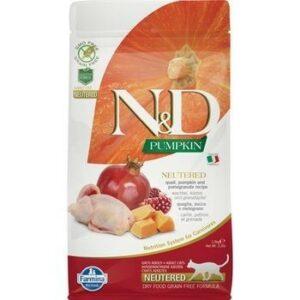 FARMINA N&D GF Pumpkin Adult Neutered 1