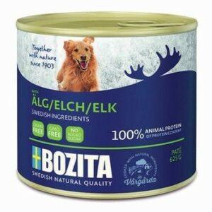 BOZITA Elk 625 г консервы для собак мясной паштет с лосем 1х12