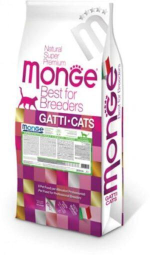 Monge Monoprotein корм для взрослых кошек с кроликом