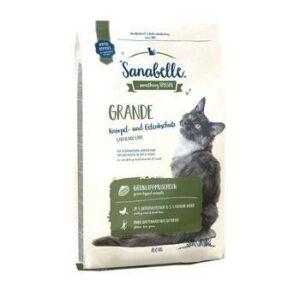 Sanabelle Grande 10 кг корм для взрослых кошек рекомендован для кошек крупных пород