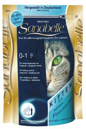 Sanabelle Kitten 10 кг корм для котят и беременных лактирующих кошек