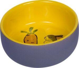 NOBBY CARROT PLUS 200 мл миска для грызунов желто- серая