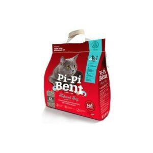 Pi-Pi Bent Морской бриз 5 кг комкующийся наполнитель для кошачьих туалетов крафтовый пакет 1х4