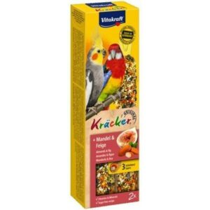 VITAKRAFT Kracker Mandel & Feige 2ш крекеры для австралийских попугаев фруктовыет 1х8