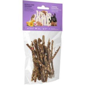 LITTLE ONE  Лакомства для всех видов грызунов ветви с травами и лепестками
