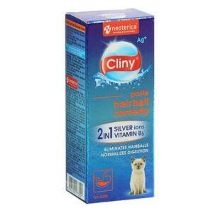 CLINY  паста для вывода шерсти со вкусом курицы