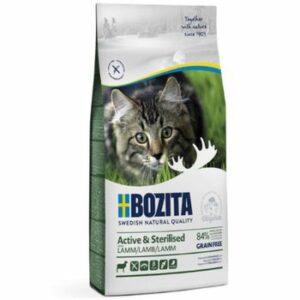 BOZITA Active & Sterilized GF Lamb 33/20 2 кг сухой беззерновой корм для стерилизованных