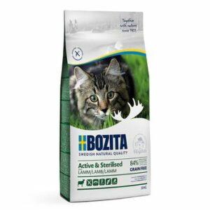 BOZITA Active & Sterilized GF Lamb 33/20 10 кг сухой беззерновой корм для стерилизованных