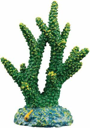 GloFish Зеленый коралл - декорация с GLO-эффектом