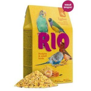 RIO Eggfood 250 г яичный корм для волнистых попугайчиков и других мелких птиц 1х5