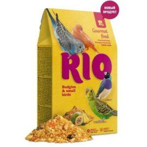 RIO Gourmet food 250 г корм для волнистых попугайчиков и других мелких птиц 1х5