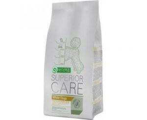 NATURE'S PROTECTION White Dogs SC 17 кг полнорационное питание для взрослых собак мелких и средних пород белого окраса с ягненком