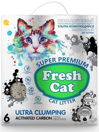 Fresh Cat Activated carbon 6л 5