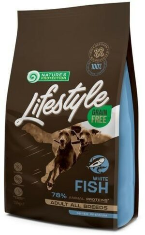 NATURE'S PROTECTION LIFES TYLE Adult Waite Fish 1