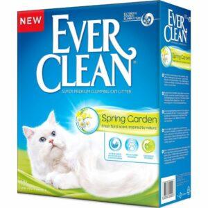 EVER CLEAN Spring Garden Наполнитель д/кошек c нежным ароматом весеннего сада 10л
