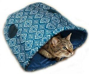KONG шуршащий игровой домик для кошек