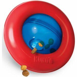 KONG игрушка интерактивная под лакомства Gyro малая